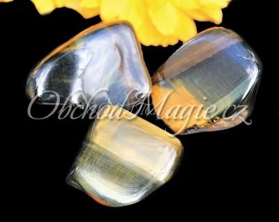 Tromlované kameny-SOKOLÍ OKO, kámen, tromlovaný