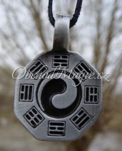 Amulety zdraví -JIN A JANG S TRIGRAMY, amulet