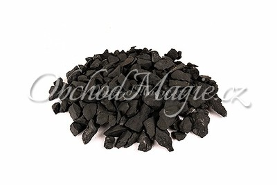 Šungit-ŠUNGIT, DRCENÝ,  10 - 20 mm, 1 kg
