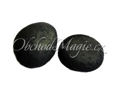Krystaly, drůzy a surové kameny-ŠUNGIT, kámen, tromlovaný, vel. L