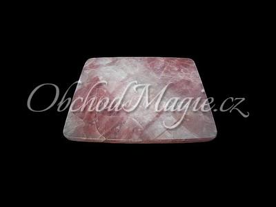 Sbírkové kameny-RŮŽENÍN, podložka pod myš, broušená