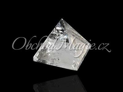Pyramidy-PYRAMIDA, KŘIŠŤÁL, malá, 1,6 cm