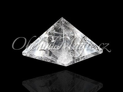 Pyramidy-PYRAMIDA, KŘIŠŤÁL, velká, 5 cm