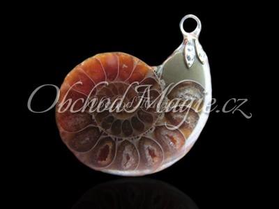 Šperky z kamenů-AMONIT, přívěsek