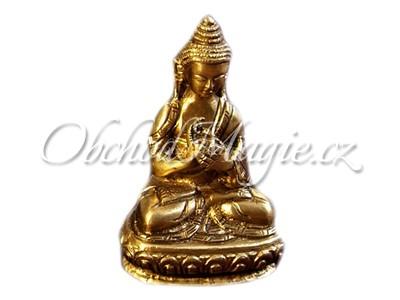 Buddha-Vajrócana Buddha socha mosaz 7,5cm