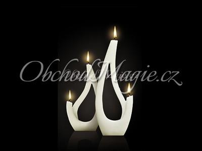 Designové svíčky Alusi-SABA, svíčka, ALUSI, 16 cm