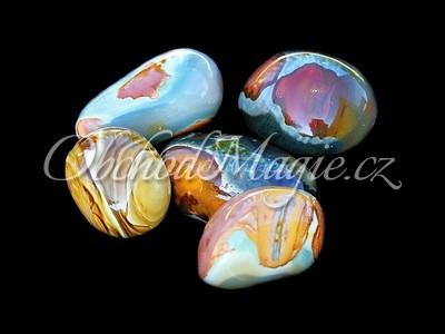 Tromlované kameny-Jaspis pouštní, leštěný, JUMBO