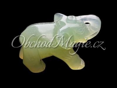 Sloni-Slon Jadeit 7,5 cm