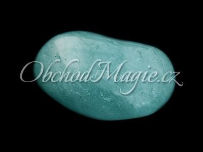 Tromlované kameny-Akvamarín, tromlovaný kámen, vel. L