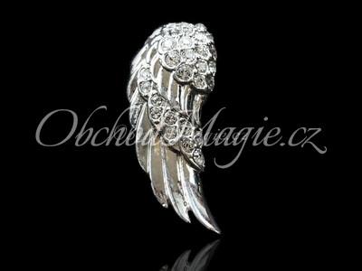 Šperky Swarovski-Andělská křídla přívěsek s kamínky Swarovski