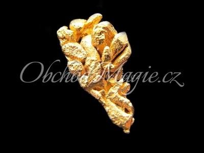 Sbírkové kameny-Nuget ryzího zlata, váha 4 g