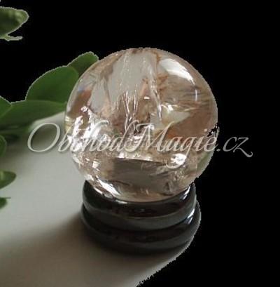 Věštecké koule-Koule z pravého křištálu extra kvality 2cm