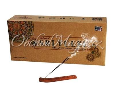 Vonné tyčinky-Goloka Sri Tulsi vonné tyčinky Indie, balení 6 ks