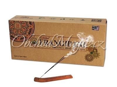 Vonné tyčinky-Goloka Frangipani vonné tyčinky Indie, balení 6 ks