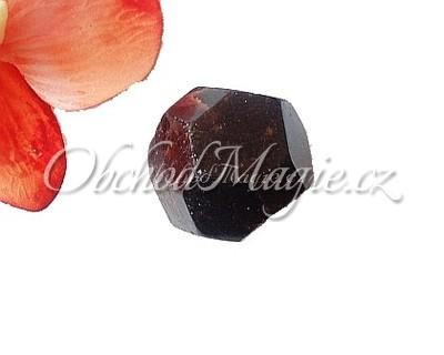 Tromlované kameny-GRANÁT, krystal, broušený