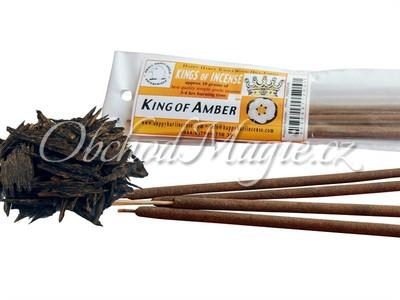 Vonné tyčinky-King of Amber vonné tyčinky Indie