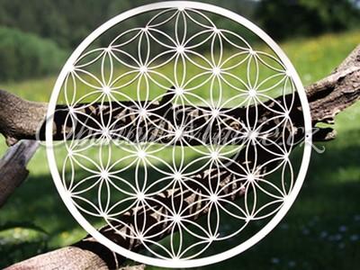 Květ života a květ Venuše-Květ života nástěnná dekorace s krystaly Swarovski 24,5 cm