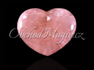 Mýdla a srdíčka-Růženín srdce masážní hmatka 3 cm