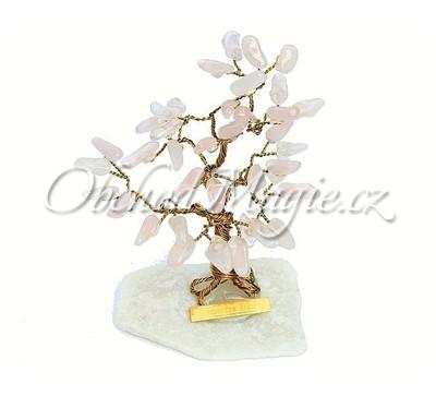 Dárky a dekorace-Stromeček štěstí růženín 10 cm