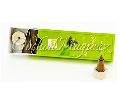 Vonné kužílky, františci-Ylang Ylang, vonný františek, sada 10 ks
