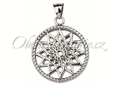 Amulety ochrana -Lapač snů hvězda silver