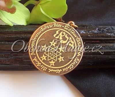 Amulety ochrana -Michalangelův magický kruh, amulet