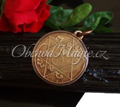 Amulety ochrana -Magický pantakl otce