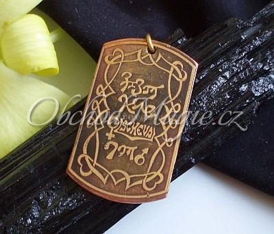 Amulety láska -Anagram lásky, amulet