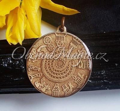 Amulety ochrana -Asyrský kámen měsíce, amulet