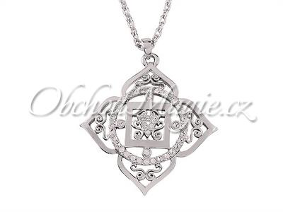 Šperky Swarovski-Přívěsek první čakra Muladhara Swarovski s řetízkem