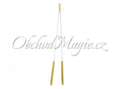 Virgule, tenzory-Virgule vlaštovka mosazná rukojeť 40cm
