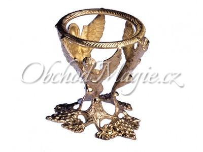 Věštecké koule-Andělský stojan na křištálové koule 13cm