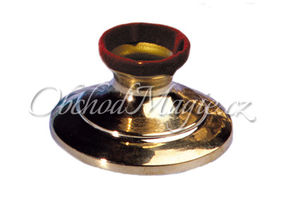 Věštecké koule-Mosazný stojánek na křištálové koule 3,5cm
