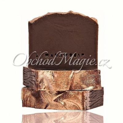 Česká přírodní mýdla -Almara Soap přírodní mýdlo Gold Chocolate