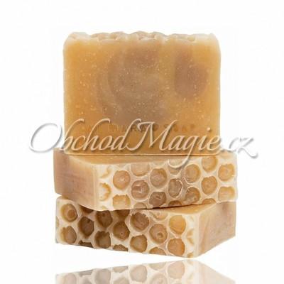 Česká přírodní mýdla -Přírodní mýdlo Medový květ