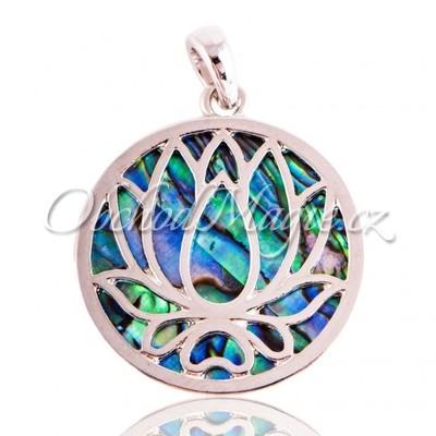 Amulety láska -Paua Lotosový květ amulet lásky