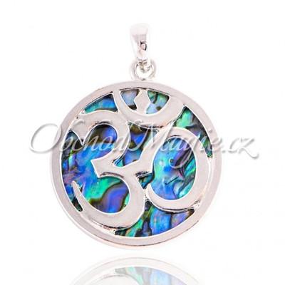 Amulety ochrana -Óm a paua mušle amulet ochrany
