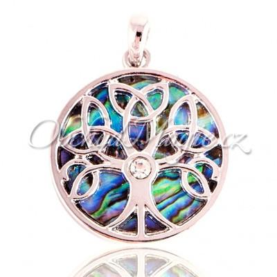 Amulety hojnost -Paua Strom života amulet hojnosti a vitality