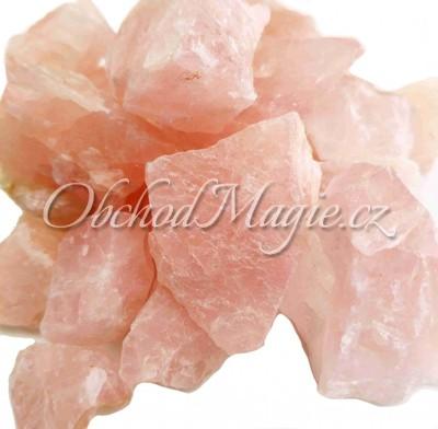 Surové kameny-Růženín surové kameny 3-5cm, 1kg