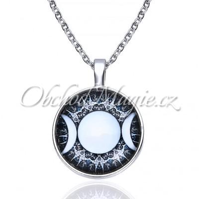 Amulety láska -TROJITÁ MĚSÍČNÍ BOHYNĚ amulet lásky a ochrany