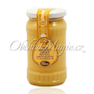 Včelí požehnání-Med květový lipový Pleva 450 g