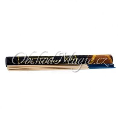 Luxusní a dlouhé tyčinky-Luxusní dlouhé vonné tyčinky SANDALWOOD 34 cm