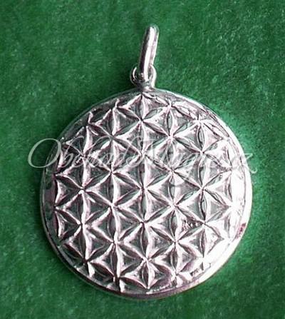 Šperky zdraví-KVĚT ŽIVOTA, střední, přívěsek, stříbro
