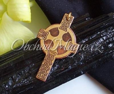 Amulety keltské -KELTSKÝ KŘÍŽ, amulet