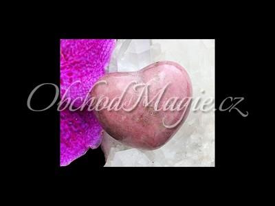 Mýdla a srdíčka-RODONIT, srdce, masážní hmatka
